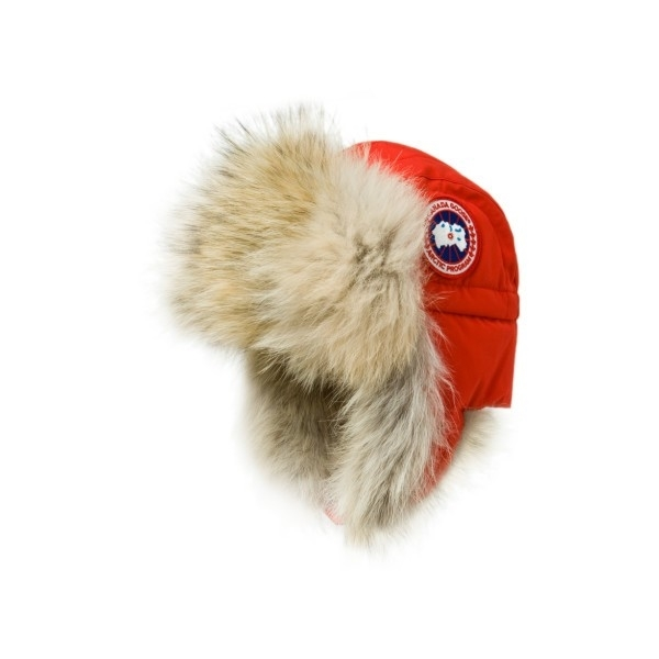CANADA GOOSE Aviator Hat Red  26631abf3fc5