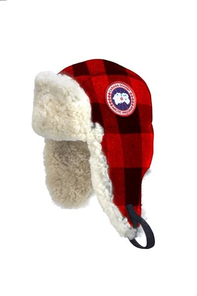 CANADA GOOSE Merino Wool Shearling Pilot Hat Buffalo  095b496e043