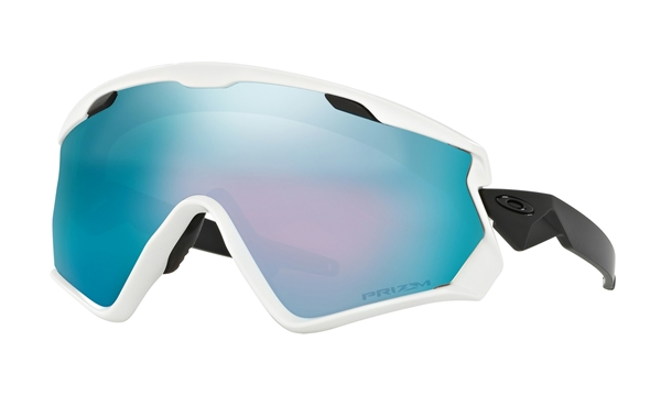 23554d89c15 OAKLEY Wind Jacket 2.0 Matte White Prizm Snow Sapphire Iridium ...