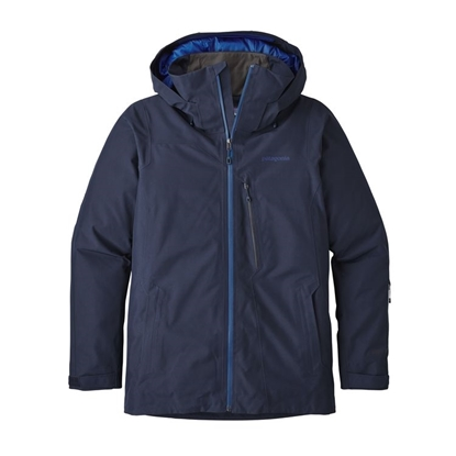 pretty nice 3ba07 1a979 PATAGONIA Insulated Powder Bowl Jkt (M) Navy Blue