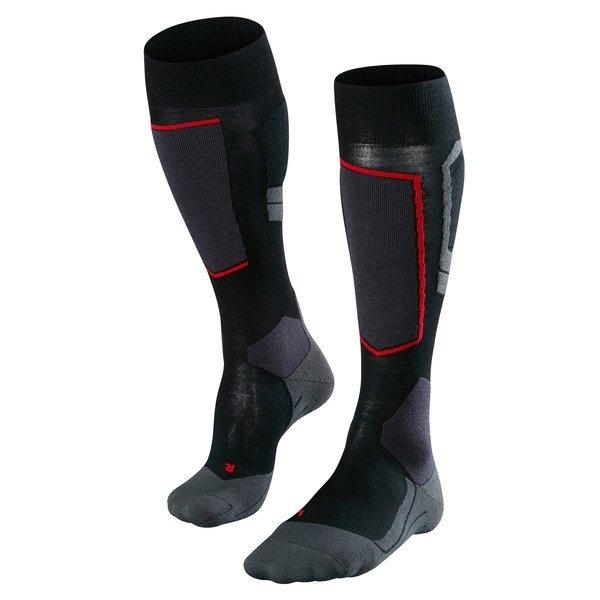 5605dcc95f4 FALKE Skiing Sk4 Wool(W) Black/Grey | Hemsedal Sport