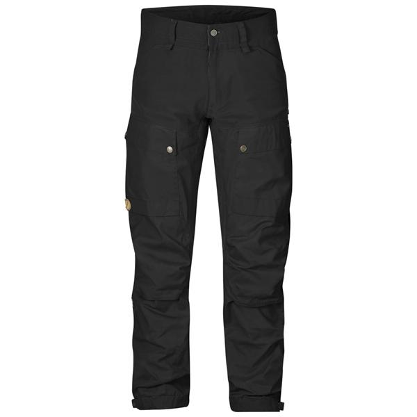 FJÄLLRÄVEN Keb Trousers Regular (M) BlackBlack