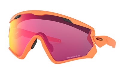 5cdfa1eb25f OAKLEY Wind Jacket 2.0 Matte Neon Orange Prizm Road
