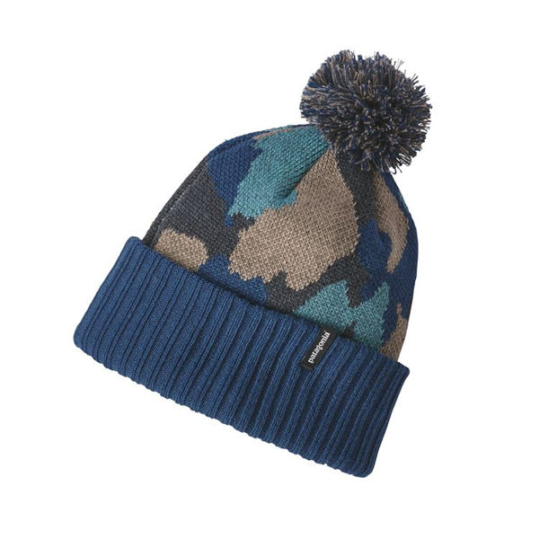 The Kids  Powder Town Beanie comes in fun prints and is made of 100%  recycled polyester. Merke  Patagonia ce36383c8611