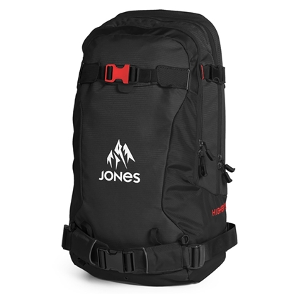 Bilde av JONES Higher 30L Black/Red