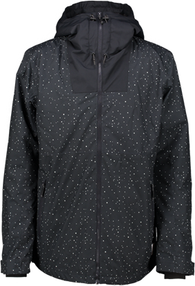 Bilde av WEAR COLOUR Block Jacket (M) Black Galaxy