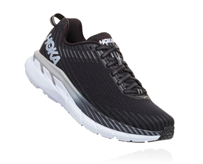 Bilde av HOKA ONE ONE Clifton 5 (W) Black/White.