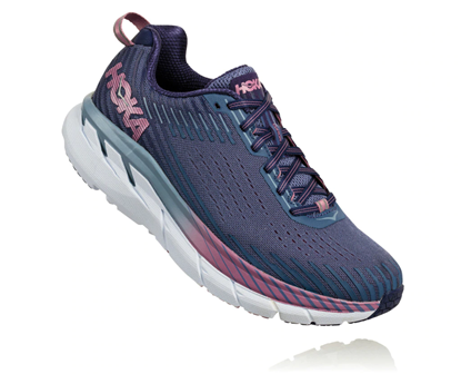 Bilde av HOKA ONE ONE  Clifton 5 (W) Marlin/Blue Ribbon