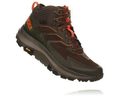 Bilde av HOKA ONE ONE Sky Toa (M) Black Olive/Orange