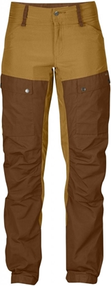 Bilde av FJÄLLRÄVEN  Keb Trousers Curved (W) Chestnut/Acorn