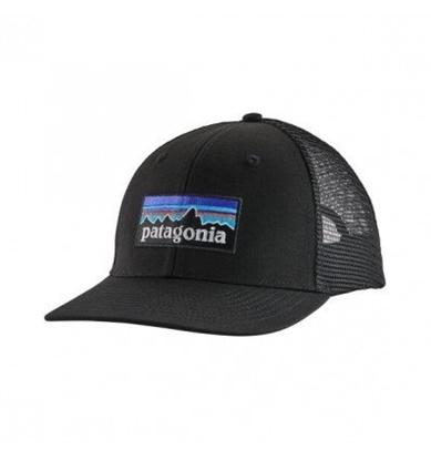Bilde av PATAGONIA P-6 Logo LoPro Trucker Hat Black