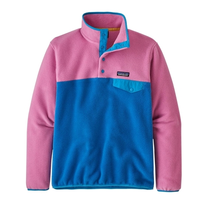 Bilde av PATAGONIA  LW Synchilla Snap-T Pullover(W) Marble Pink