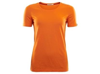 Bilde av ACLIMA Lightwool T-Shirt (W) Orange Popsicle