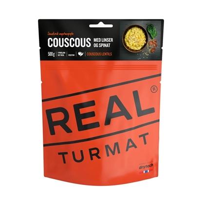 Bilde av REAL TURMAT Couscous m/Linser Og Spinat (VEGETAR)
