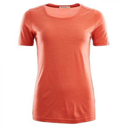 Bilde av ACLIMA Women's Lightwool T-Shirt Burnt Sienna