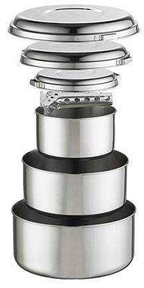 Bilde av MSR Alpine 4 Stainless Steel Group Pot Set