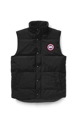 Bilde av CANADA GOOSE Mens Garson Vest Black