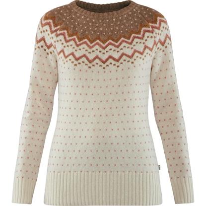 Bilde av FJÄLLRÄVEN Womens Övik Knit Sweater Terracotta Pink
