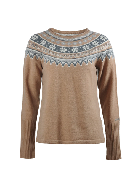 Bilde av SKHOOP Scandinavian Sweater (W) Sand