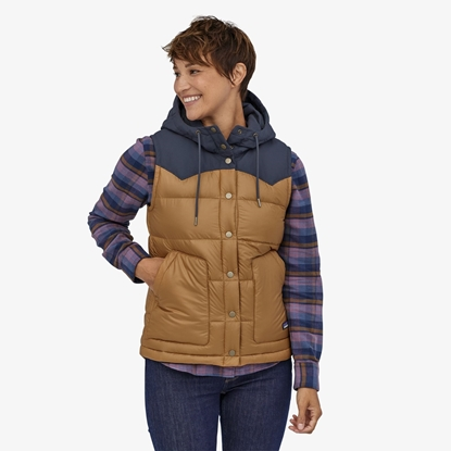 Bilde av PATAGONIA Women's Bivy Hooded Vest Nest Brown