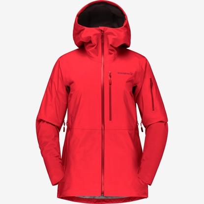 Bilde av NORRØNA Lofoten Gore-Tex Jacket (W) True Red