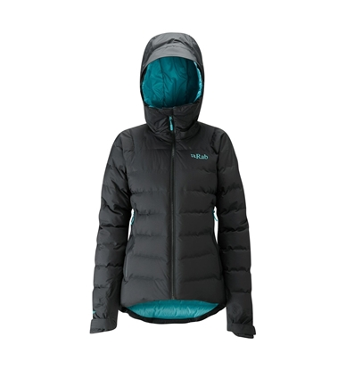 Bilde av RAB Valiance Jacket (W) Black/Seaglass