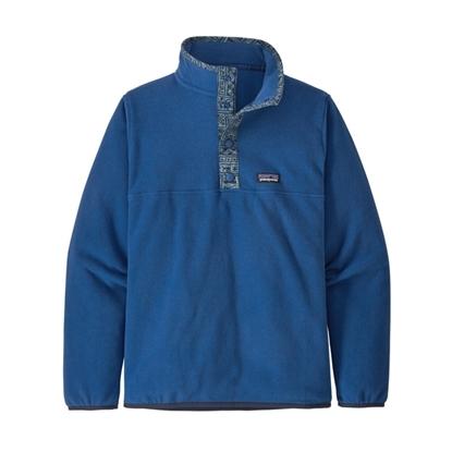 Bilde av PATAGONIA Boys' Micro D™ Snap-T® Fleece Pullover Superior Blue