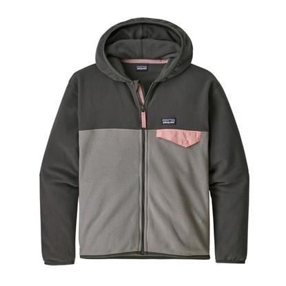 Bilde av PATAGONIA Girls' Micro D™ Snap-T® Fleece Jacket Feather Grey