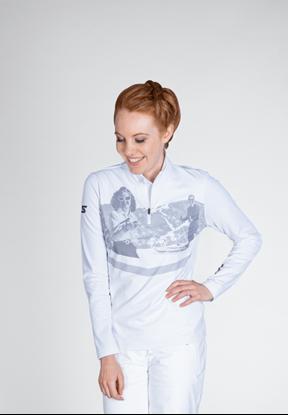 Bilde av STÖCKLI Womens Functional Shirt Retro White