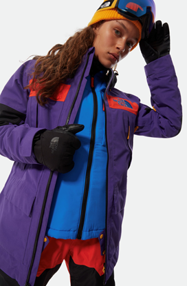 Bilde av THE NORTH FACE Womens Team Kit Jacket Peak Purple/Flare/Black