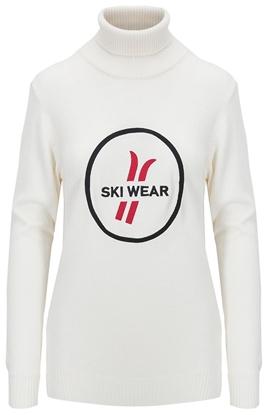 Bilde av Ski & Sailor Womens Ski Wear Rollneck Offwhite
