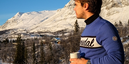Bilde av Ski & Sailor Mens Hemsedal Sweater Blue
