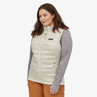 Bilde av PATAGONIA Womens Down Sweater Vest Birch White