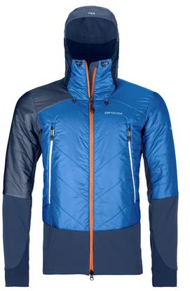 Bilde av ORTOVOX Mens Swisswool Piz Palü Jacket Safety Blue