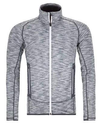 Bilde av ORTOVOX Mens Fleece Space Dyed Jacket Grey Blend