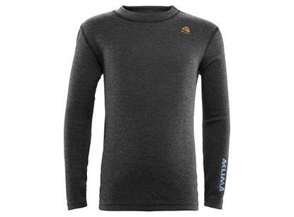 Bilde av ACLIMA Kids Warmwool Crew Neck Shirt Marengo/Tapestry