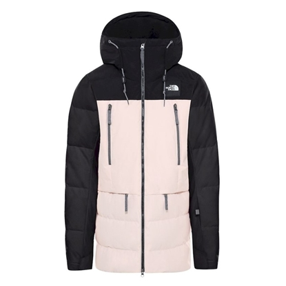 Bilde av THE NORTH FACE Womens Pallie Down Jacket Black/Morning Pink