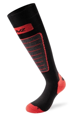 Bilde av LENZ Heat Sock Unisex 1.0 Black/Red