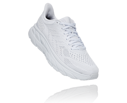 Bilde av HOKA Womens Clifton 7 White