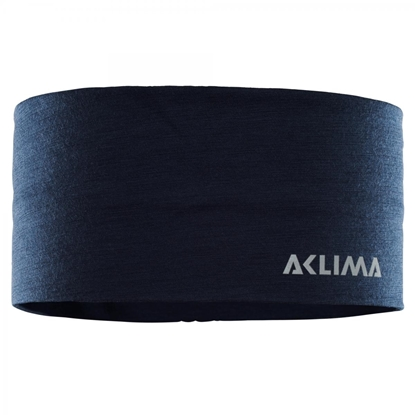 Bilde av ACLIMA Lightwool Headband Onesize Navy Blazer