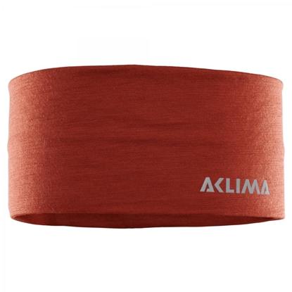 Bilde av ACLIMA Lightwool Headband Onesize Red Ochre