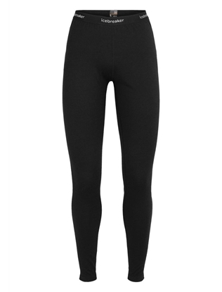 Bilde av ICEBREAKER Womens 200 Oasis Leggings Black