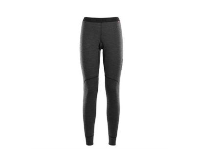 Bilde av ACLIMA Womans Doublewool Longs Marengo/Jet Black