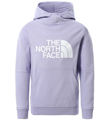 Bilde av THE NORTH FACE Girls Drew Peak Pull Over Hoody Sweet Lavender