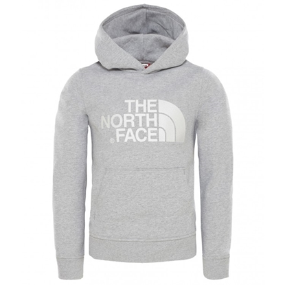 Bilde av THE NORTH FACE Youth Drew Peak Light Pull Over Hoodie TNF Light Grey Heather