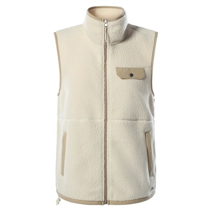 Bilde av THE NORTH FACE Womens Cragmont Vest Bleached Sand/Hawthorne Khaki