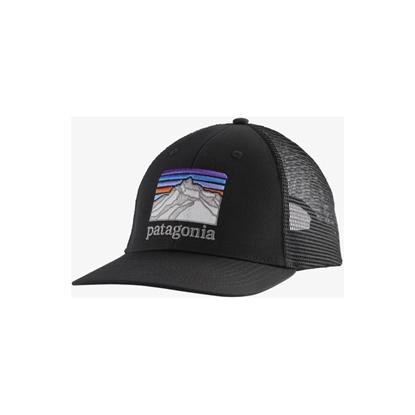 Bilde av PATAGONIA Line Logo Ridge LoPro Trucker Hat Black