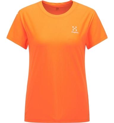 Bilde av HAGLÖFS Womens L.I.M Tech Tee Flame Orange