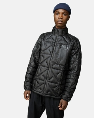 Bilde av BURTON Frostner Down Jacket (M) True Black/Pinstipe