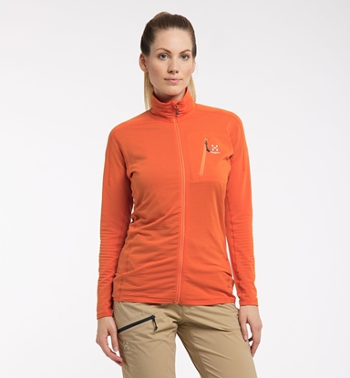 Bilde av HAGLÖFS Womens L.I.M Mid Jacket Flame Orange